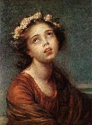 The Daughter's Portrait   RT, VIGEE-LEBRUN, Elisabeth